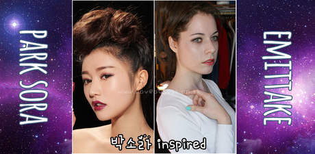 {MAKE-UP TUTORIAL} Maquillaje inspirado en Park Sora.