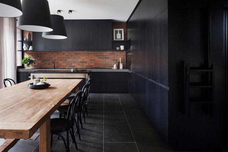 una cocina muy oscura paperblog. Black Bedroom Furniture Sets. Home Design Ideas