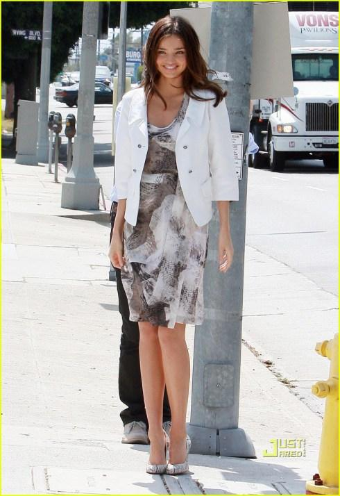EXCLUSIVE: Miranda Kerr On A Photo Shoot In Hollywood