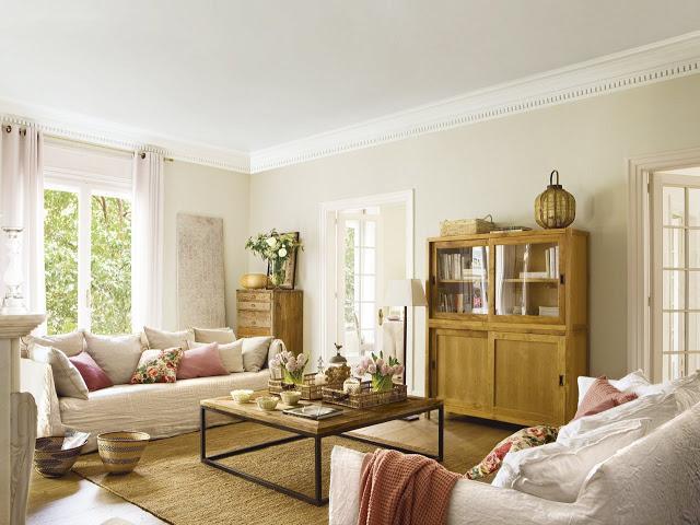 Una preciosa vivienda de estilo cl sico renovado paperblog Estilo clasico renovado