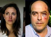 Golpean diputados Maria Corina Machado Julio Borges oposición