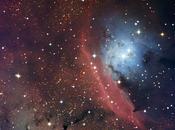 región anárquica formación estelar