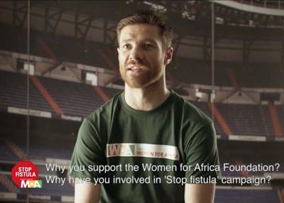 StopFistula: Cambiar el Mundo con Xabi Alonso en el equipo