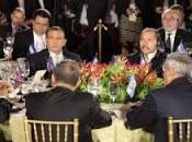 CumbreSICA Danilo otros presidentes dialogan Obama.