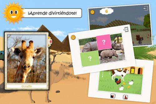 Juegos infantiles para iPad