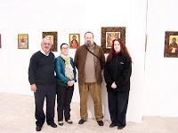 EXPOSICIONES: Exposición de iconos de Chordi Cortés y sus alumnos