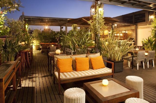 Empieza la temporada de las terrazas de los hoteles de for Terrazas de hoteles en barcelona