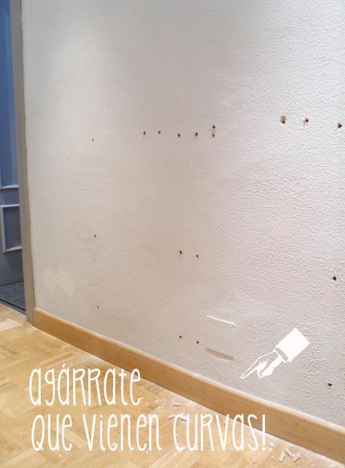 Operaci n makeover n 4 papel pintado en la entrada de casa - Papel pintado entrada ...