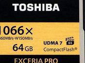 Toshiba Exceria Pro, Rápida Mundo