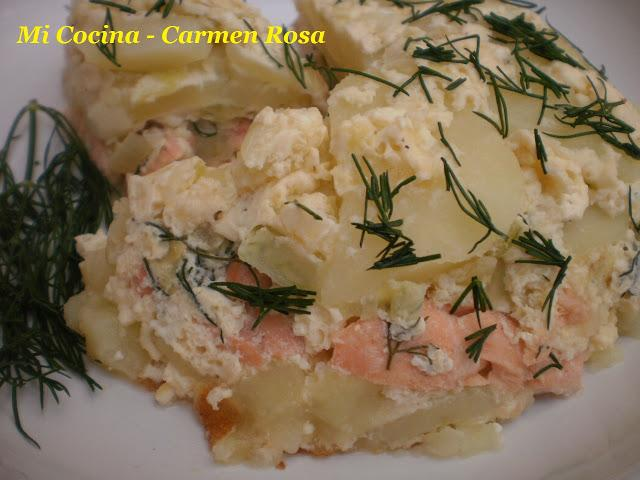 Pudin de salmon del museo vasa paperblog for Como se cocina el salmon