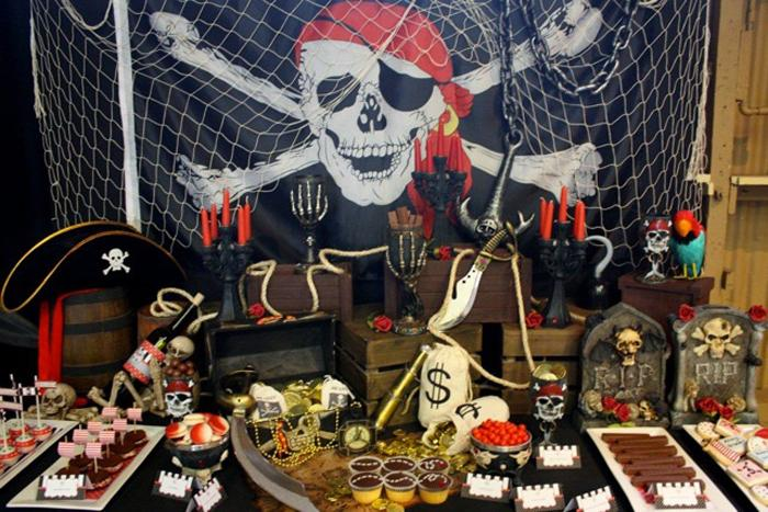 Fiesta piratas: Ideas para la decoración - Paperblog