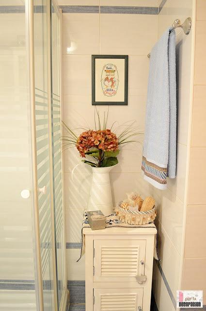 Baño Estilo Romantico:Por cierto, dentro de poco este baño va a sufrir una pequeña