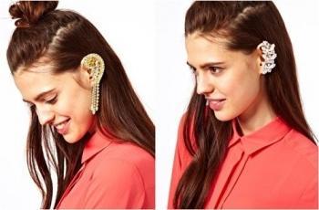 Ear cuff, los pendientes de moda