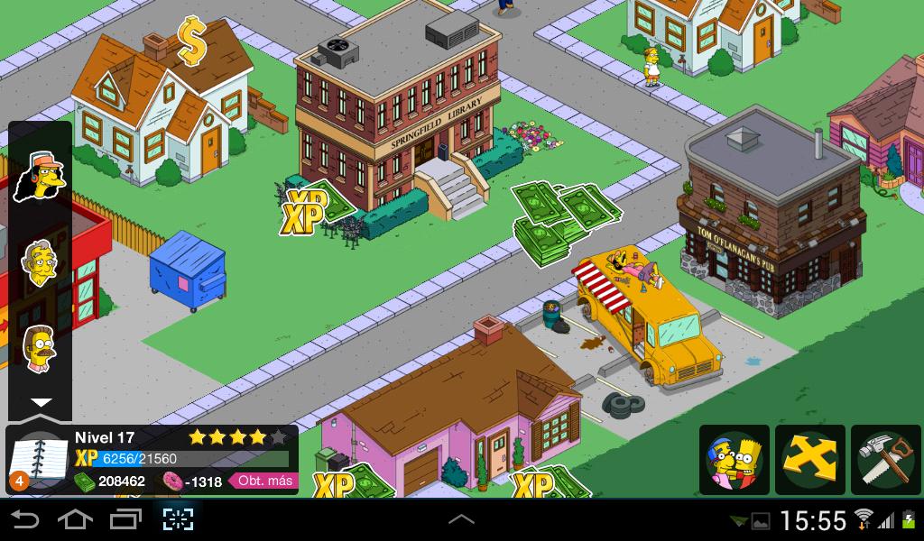 Los Simpson Springfield 4.2.1 Modificado rosquillas gratis [Sin error]