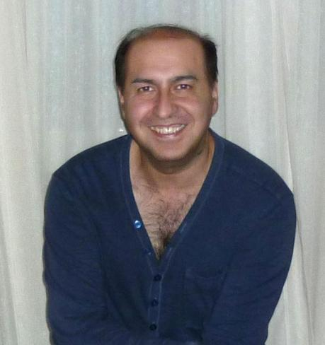 Daniel Pérez Suárez dibujando pasiones