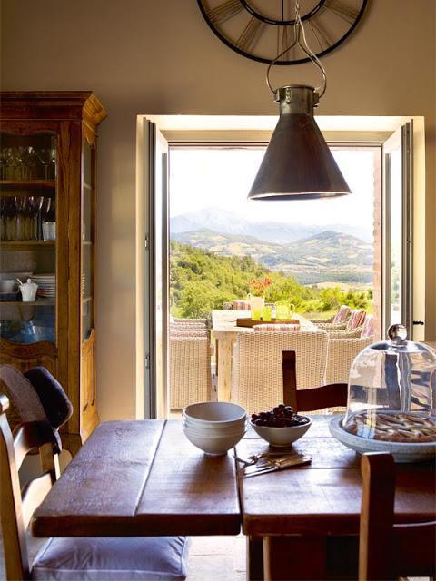 Decoracion Italiana Casas ~ Una casa de campo en la toscana italiana  Paperblog