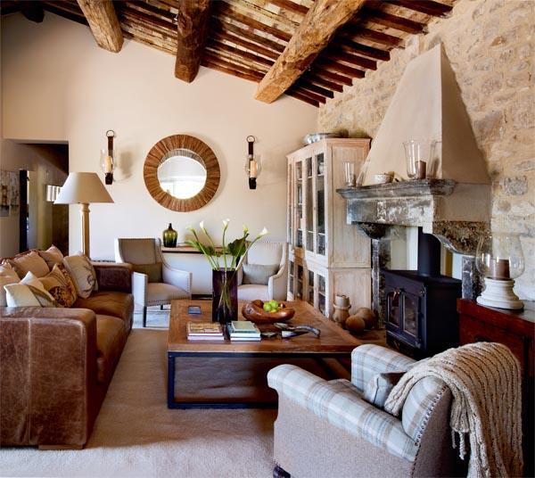 Decoracion Italiana Rustica ~ Una casa de campo en la toscana italiana  Paperblog