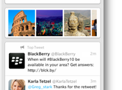 Twitter LinkedIn actualizan apps para #Blackberry10