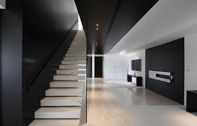 Escaleras en interiores minimalistas paperblog for Escaleras minimalistas interiores