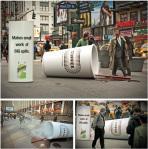 Acciones de marketing con ambients gigantes