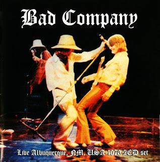 BAD COMPANY - LIVE IN ALBURQUERQUE  (1976)