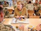 canciller alemana visita Afganistán para apoyar tropas