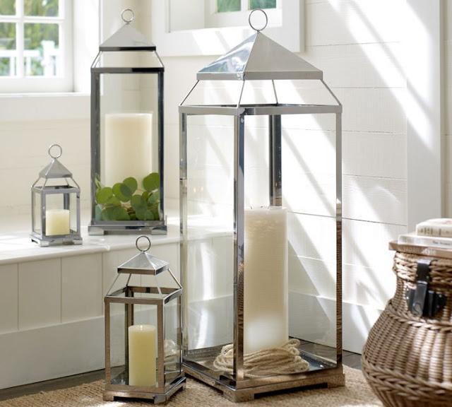 Faroles para iluminar y decorar paperblog - Portavelas grandes ...
