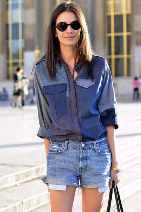 denim-fashion-trend-street-style-Isabel-Marant-patchwork-denim-shirt-015