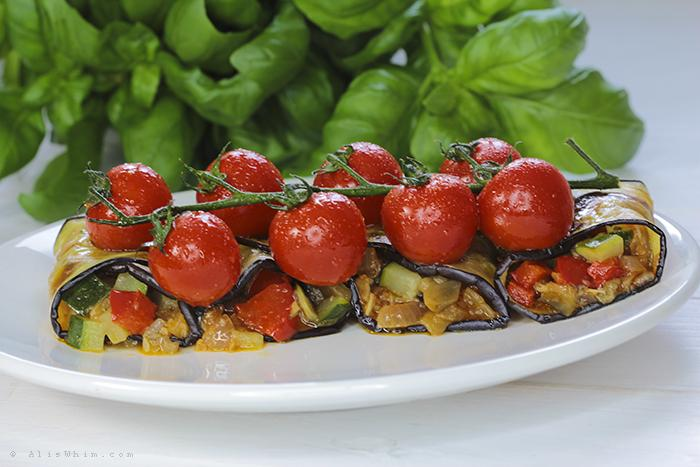 Pisto enrollado en berenjena paperblog for Verduras tipicas de francia