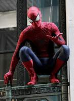 Set de fotos de detrás de escena para The Amazing Spiderman