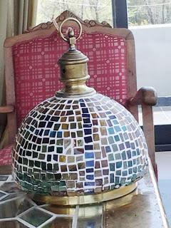 otra lmpara con cristales