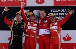 Fernando Alonso ganó el GP de F1 de España