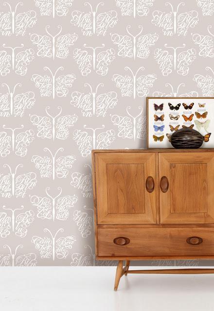 Los papeles pintados de mini modern paredes alegres - Papeles pintados para paredes ...