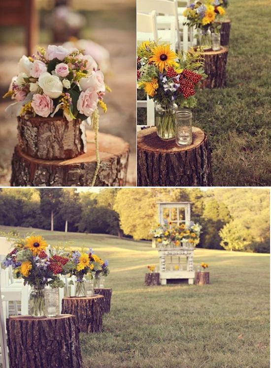 Decorar con troncos de madera paperblog - Tronco de arbol para decoracion ...