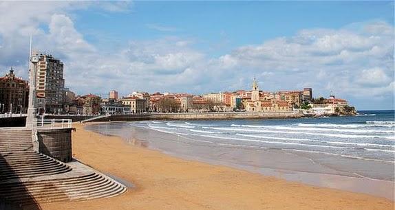 Gijon el mar cantabrico y el casco historico del barrio de cimavilla paperblog - Puerto de gijon empleo ...