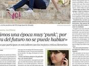 Entrevista escritora Pomares Periódico