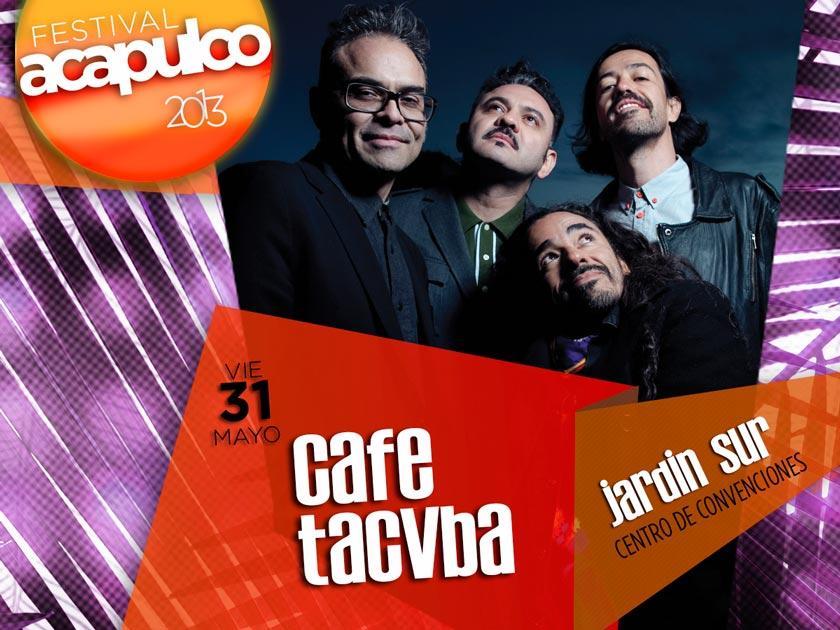 Cafe Tacuba jardin sur festival acapulco 2013 - Paperblog