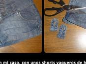 Diy: shorts desteñidos