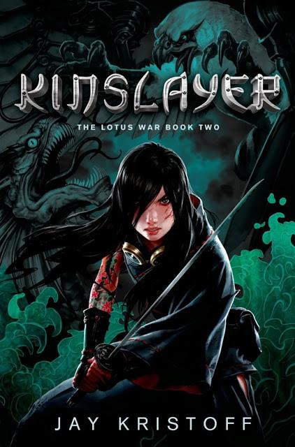 Portada revelada: Kinslayer (The Lotus War #2) de Jay Kristoff