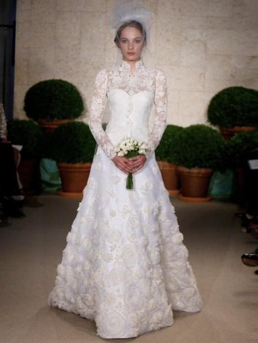 vestidos de novia con mangas - paperblog