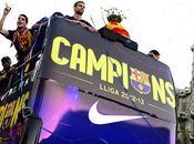 Medio millón personas para celebrar título liguero Barça