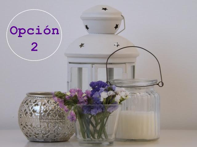 Montamos 5 opciones de decoraci n low cost paperblog for Candelabro ikea