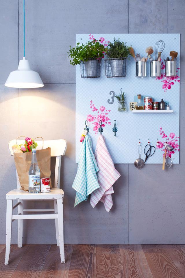 Diy tablero estante para la cocina paperblog for Tableros para encimeras cocina