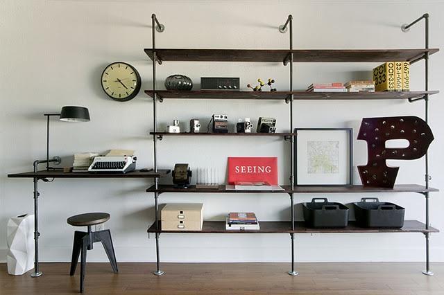 Crea tu mueble estilo industrial con tuber as paperblog - Mueble estilo industrial ...