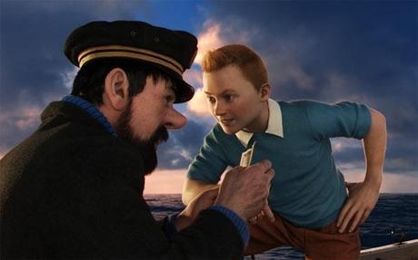 Tintin El Secreto del Unicornio Spielberg 1
