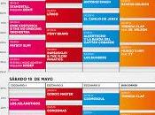 Horarios festival Territorios Sevilla 2013