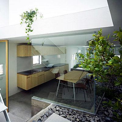 Casa jard n en nayoga jap n garden house in nayoga - Casas con jardin interior ...