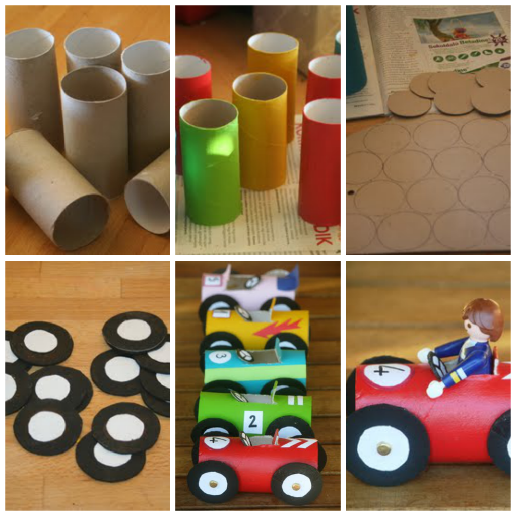 Manualidades con reciclaje para ni os en el d a - Trabajos manuales faciles para hacer en casa ...
