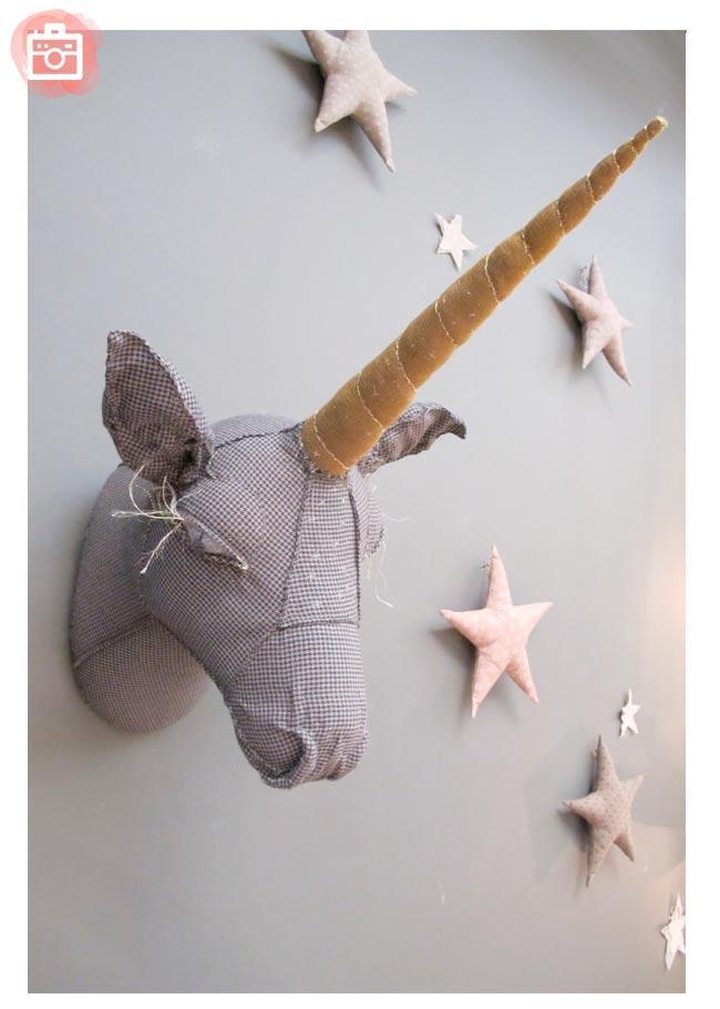 Foto del d a un m gico unicornio de pared paperblog for Decoracion para pared de unicornio