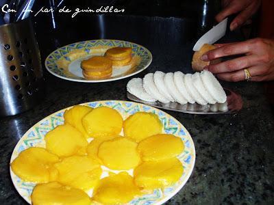 Canap de mango y foie gras paperblog for Canape foie gras